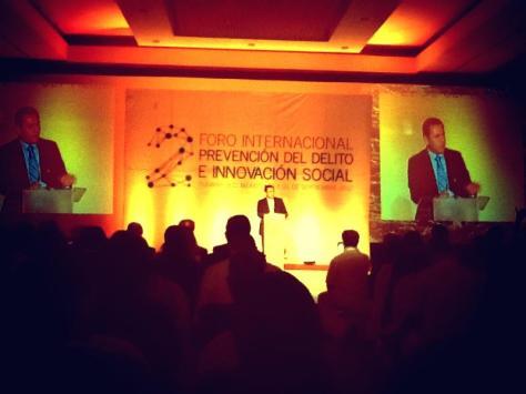 Foro Internacional de Prevención del Delito e Innovación Social.