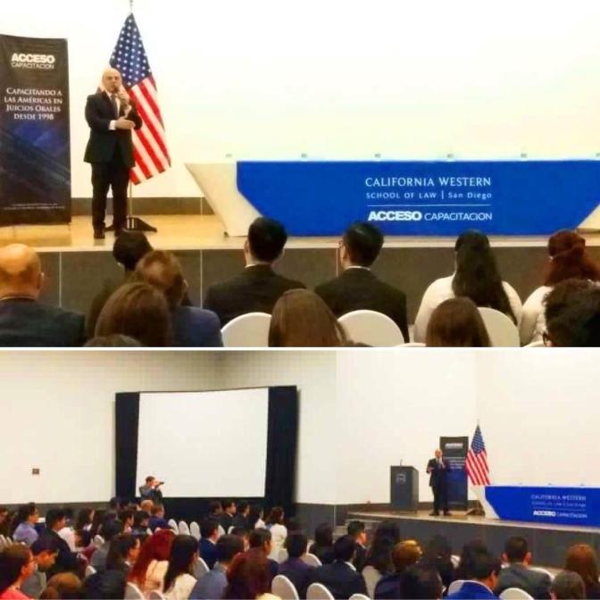 Participa PGJE de Baja California con universidad de Estados Unidos.