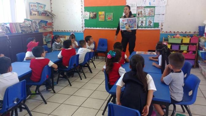 Imparten DARE a niños y niñas de pre escolar SSPM