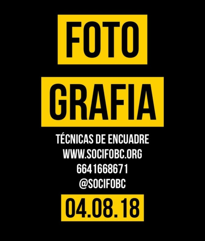 Impartirán taller de fotografía forense y técnicas de encuadre en Tijuana. SOCIFOBC