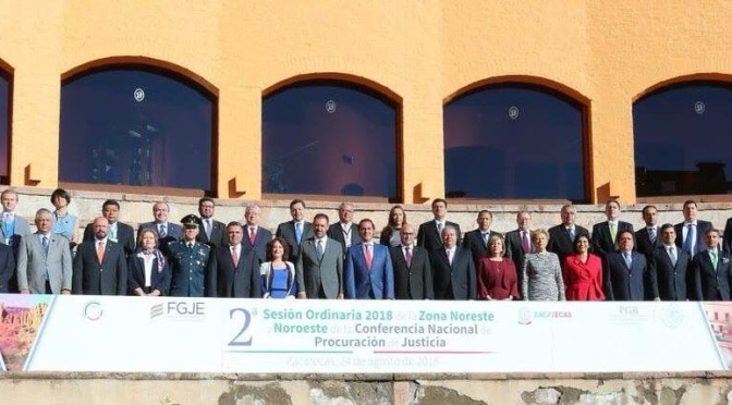Celebran 2da Sesión de la Conferencia Nacional de Procuración de Justicia.