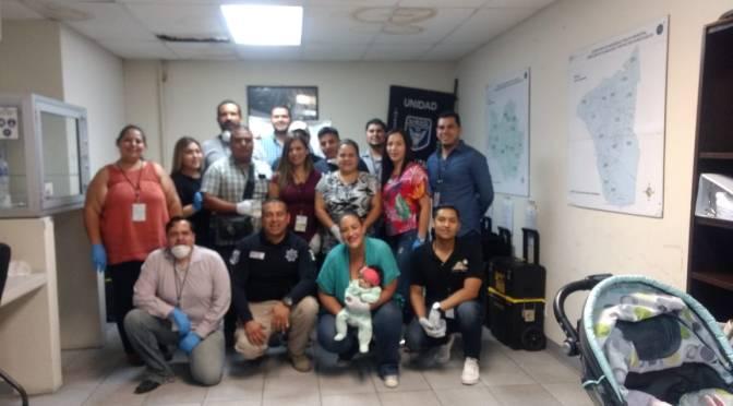 Universitarios visitan la Unidad Especializada en Investigación Criminal