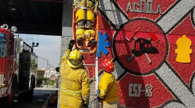 Realiza Bomberos prácticas de mejora continua en Tijuana