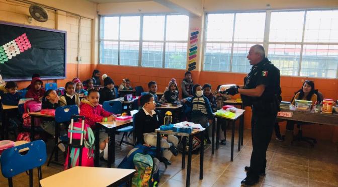 Participan 500 estudiantes en taller de seguridad personal. SSPM